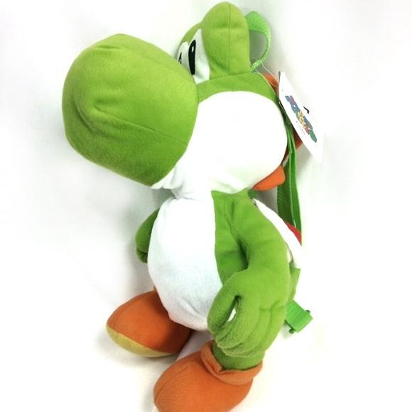 """10/"""" YOSHI Plush Stuffed Animal NWT Super Mario Yoshi Dinosaur"""